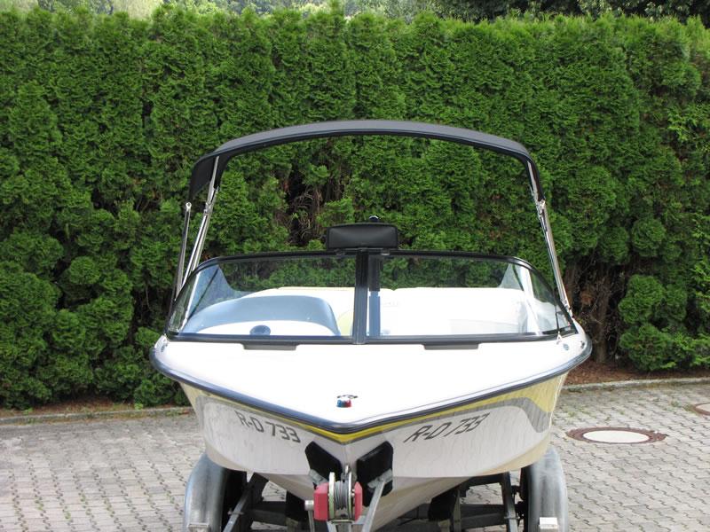 Bimini Correct Craft Ski Nautique 196 Sonnenverdeck 05