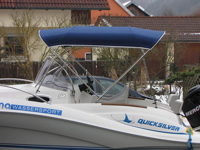 Bimini Quicksilver 555 WA Sonnenverdeck 03