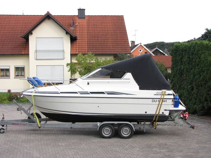 Persenning Fairline 21 Bootspersenning 03