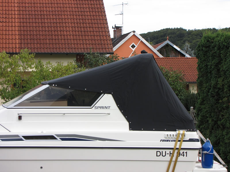 Persenning Fairline 21 Bootspersenning 04