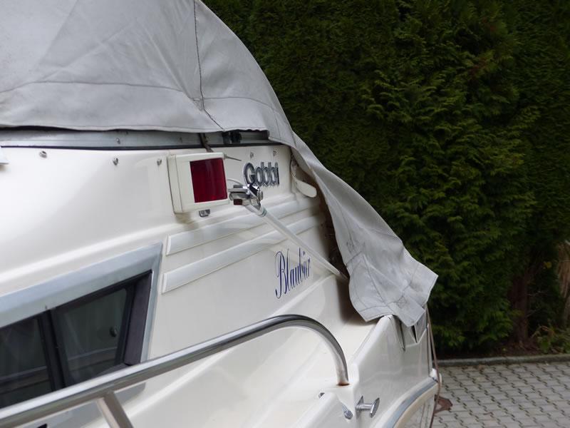 Alte Originalpersenning Gobbi 21 Cabin zum Vergleich 04