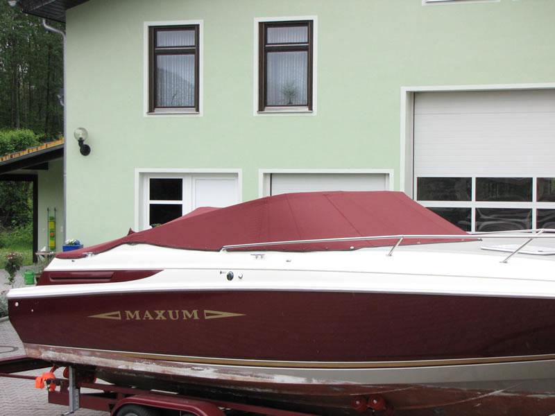 Persenning Maxum 2300 SC Bootspersenning 08