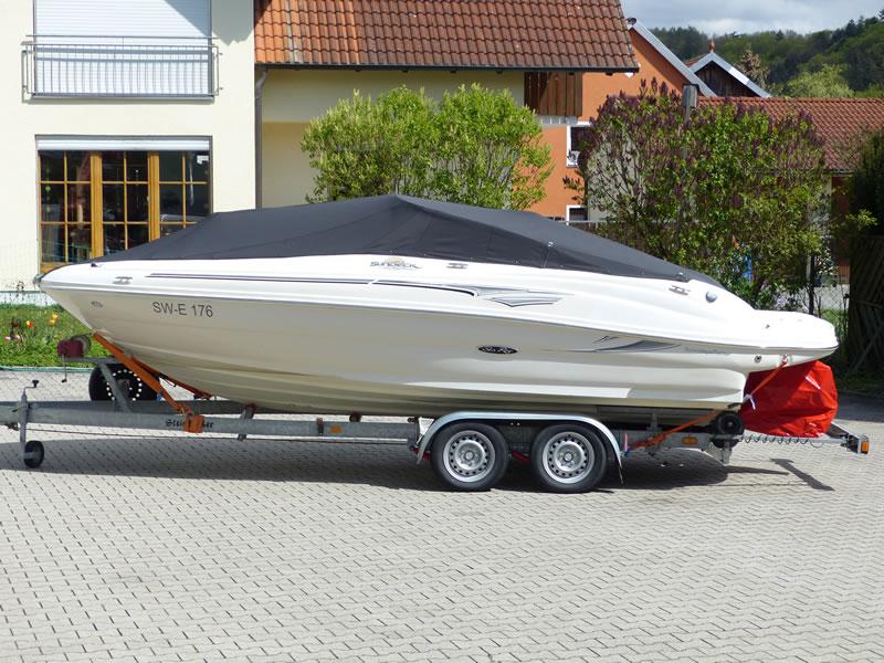Persenning Sea Ray 200 Sundeck Bootspersenning 02