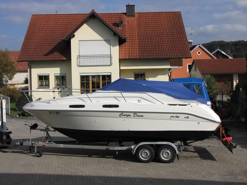 Persenning Sea Ray 230 DALT Bootspersenning 03