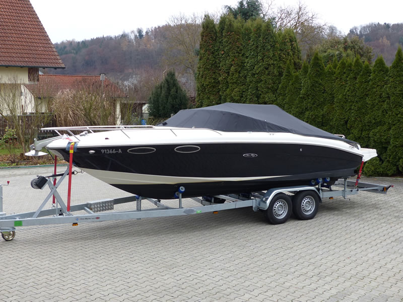 Persenning Sea Ray 240 SSE Bootspersenning 05