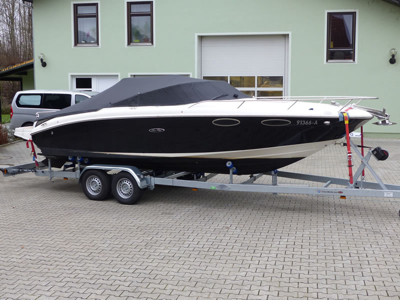 Persenning Sea Ray 240 SSE Bootspersenning 08