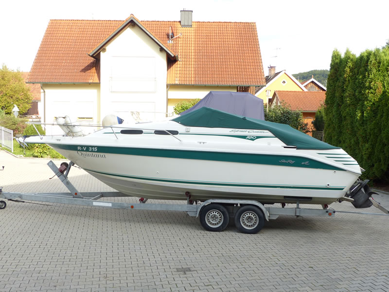 Persenning Sea Ray 250 Express Cruiser Bootspersenning03