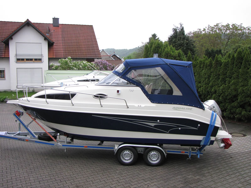 Verdeck Aqualine 750 Persenning  01