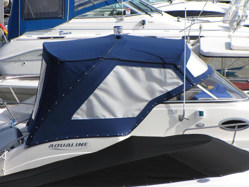 Verdeck Aqualine 750 Persenning  13