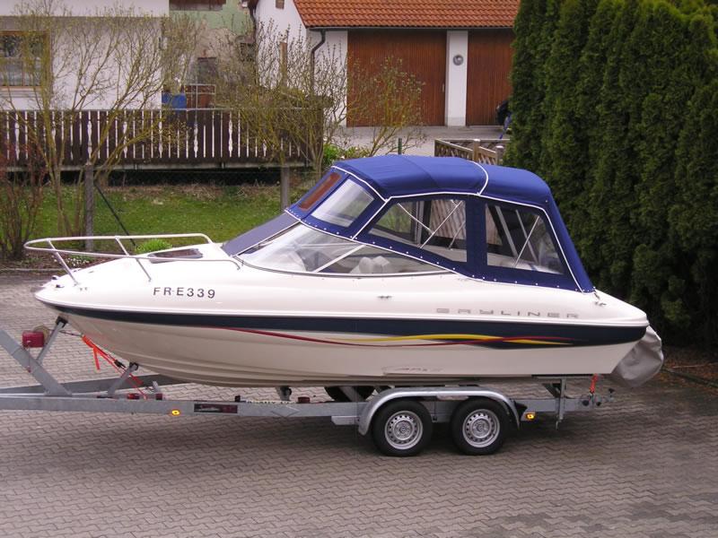 Verdeck Bayliner 192LX Persenning 01
