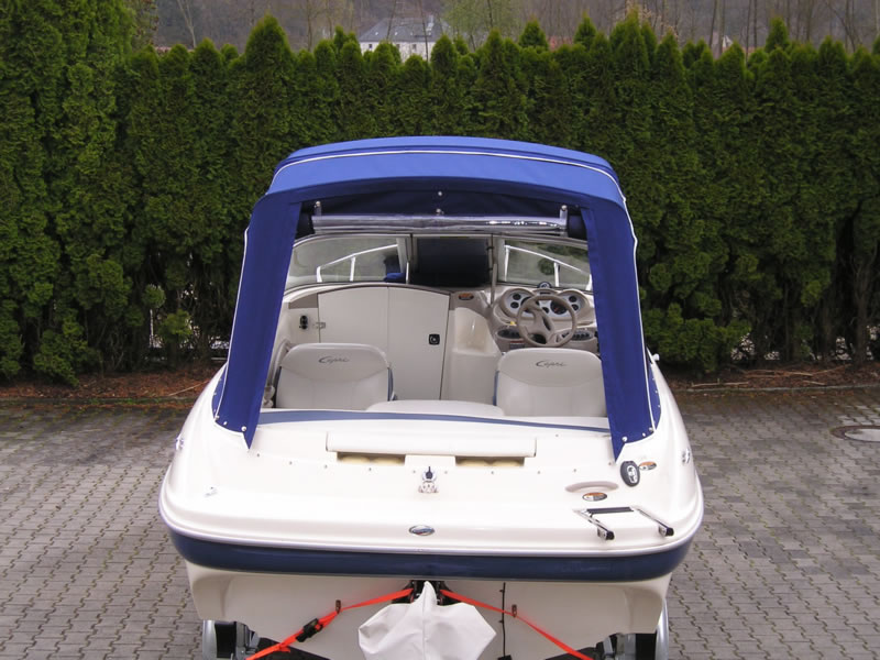 Verdeck Bayliner 192LX Persenning 07