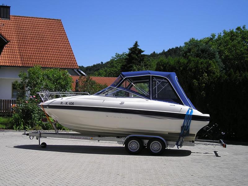 Verdeck Bayliner 2051 Persenning 02