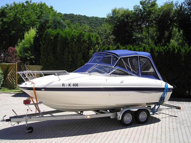 Verdeck Bayliner 2051 Persenning 03