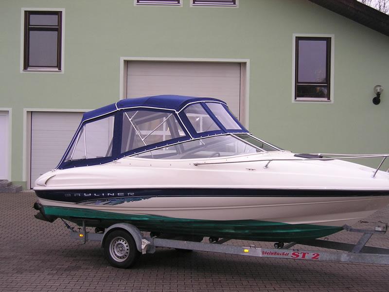 Verdeck Bayliner 2052 LS Persenning 05