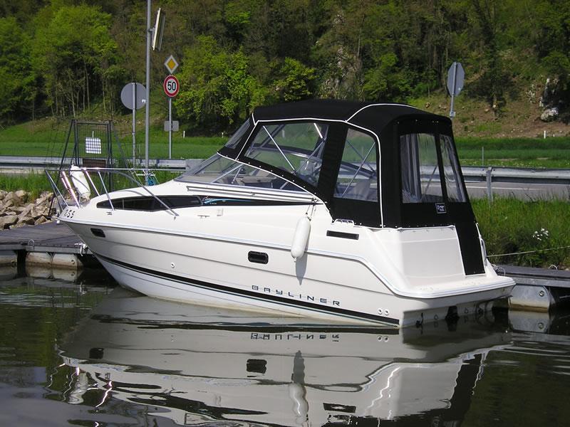 Verdeck Bayliner 2355 Persenning 09
