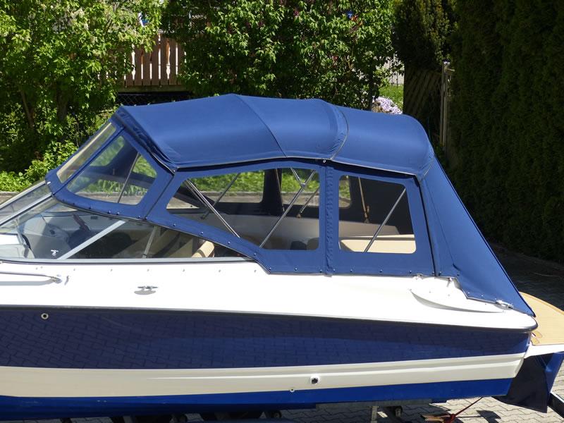 Verdeck Bayliner 652 Cuddy Bootsverdeck Persenning 02