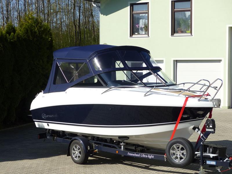 Verdeck Coaster 600 DC Scandica 20 Oceanmaster 600 Cabin Persenning 08