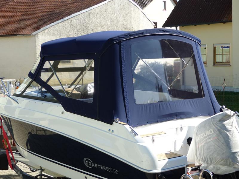 Verdeck Coaster 600 DC Scandica 20 Oceanmaster 600 Cabin Persenning 12