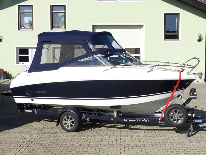 Verdeck Coaster 600 DC Scandica 20 Oceanmaster 600 Cabin Persenning 24