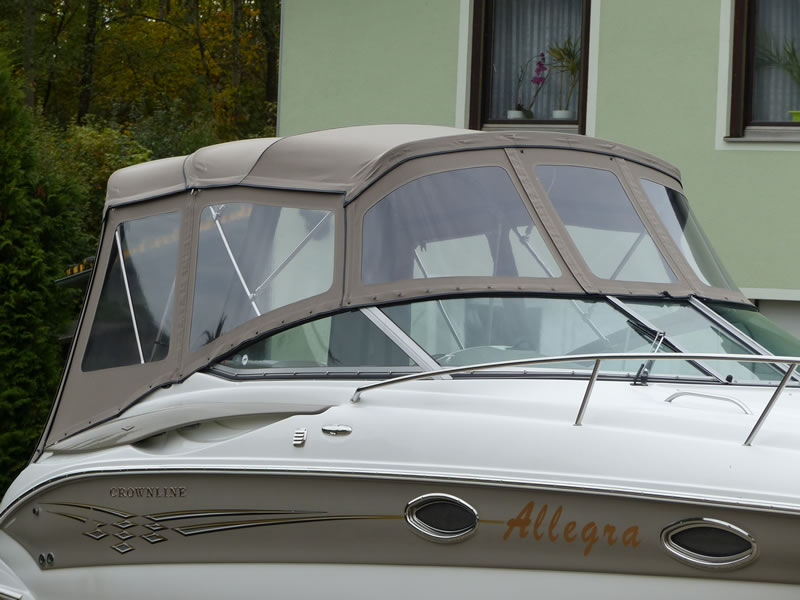 Camperverdeck Crownline 250 CR Sunbrella Plus Taupe 10