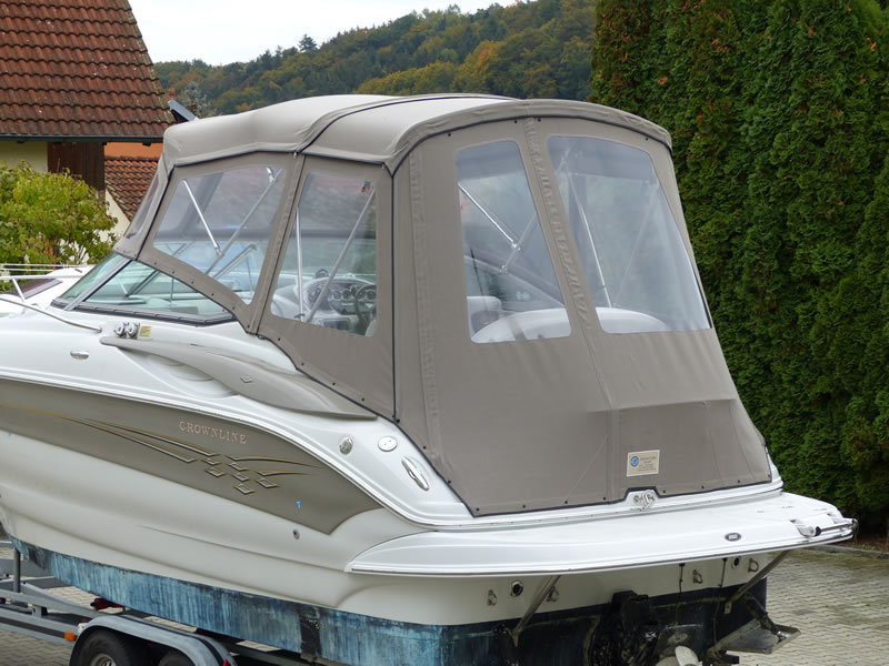 Camperverdeck Crownline 250 CR Sunbrella Plus Taupe 15