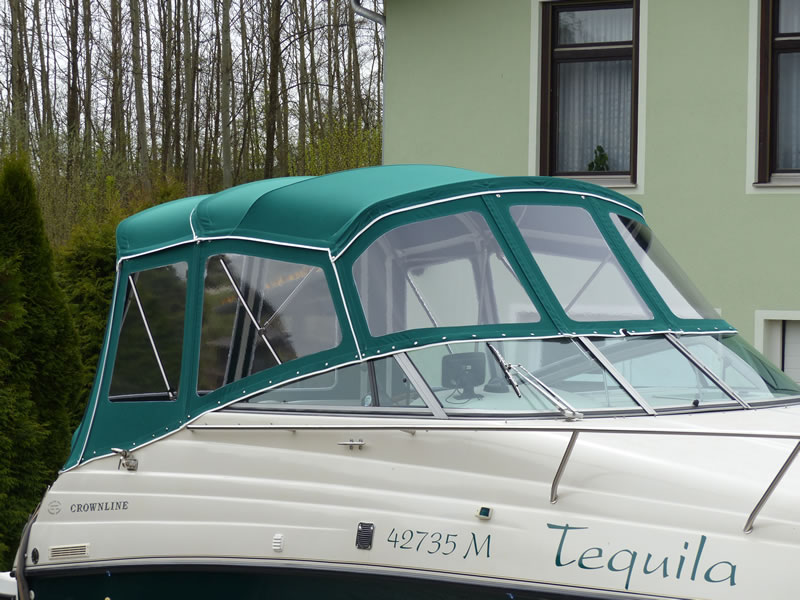 Verdeck Crownline 268 CR Persenning 12