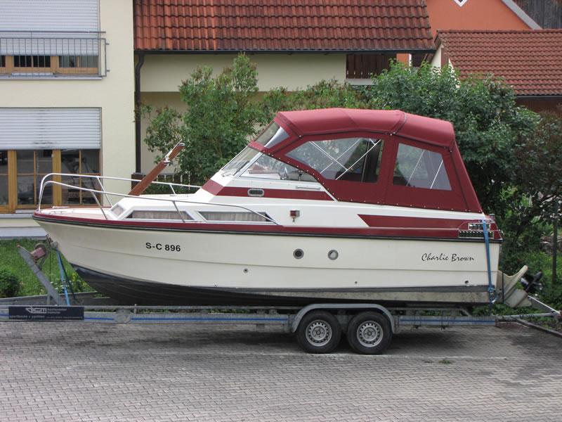 Verdeck Doriff 770 Persenning 03