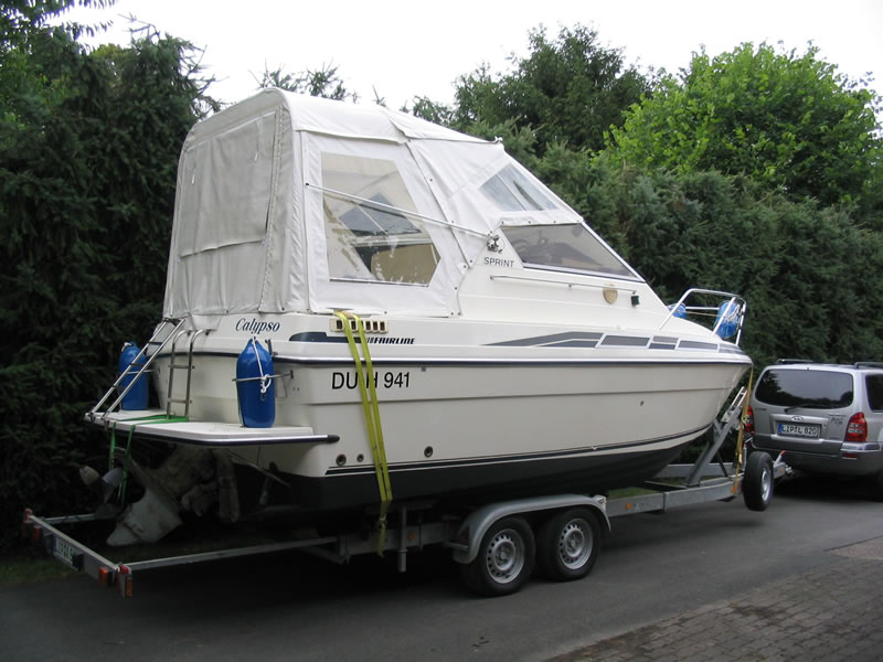 Originalverdeck Fairline 21 02