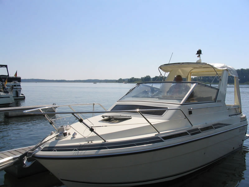 Originalverdeck Fairline 21 03