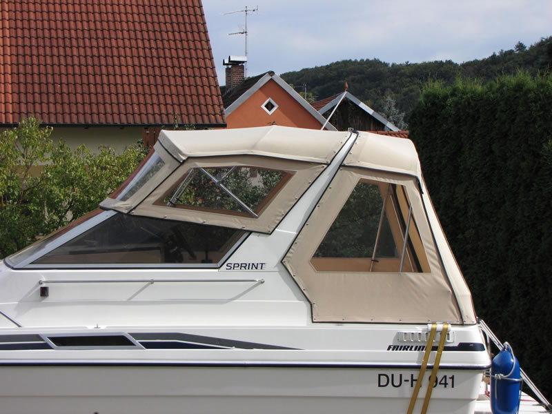 Verdeck Fairline 21 Persenning 04
