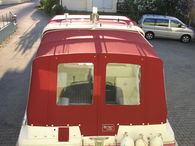 Verdeck Polar 290 Monaco Persenning 18