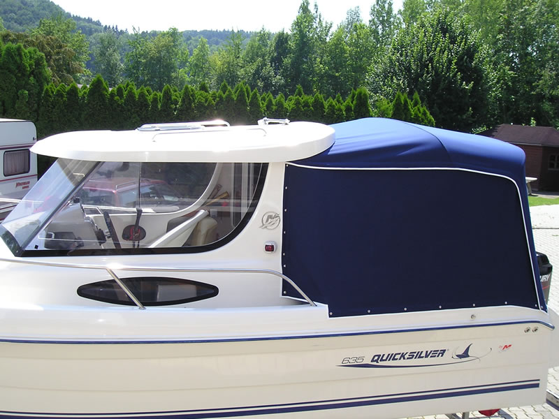 Verdeck Quicksilver 635 Pilothouse Persenning 03