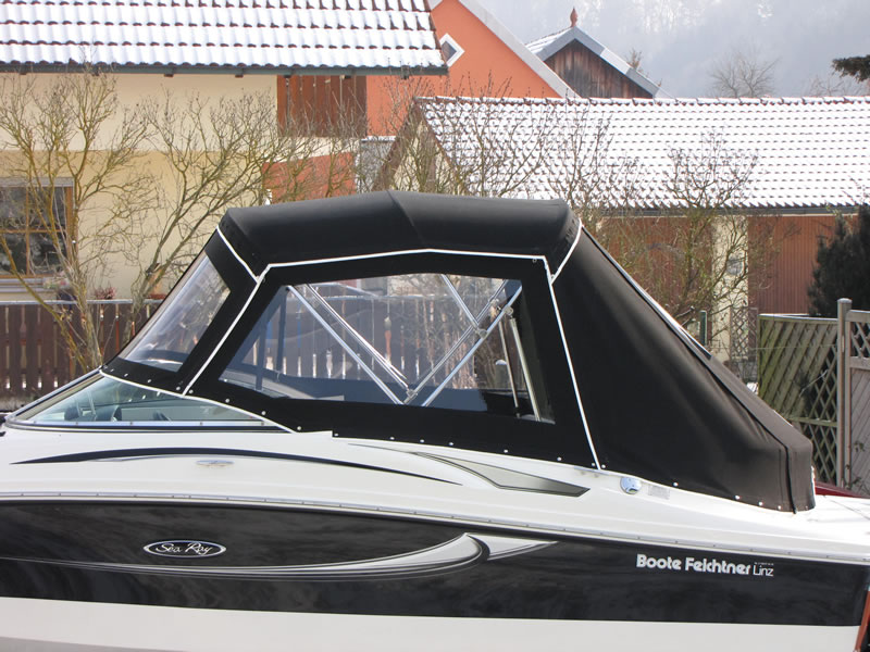Verdeck Sea Ray 195 Sport Persenning 04