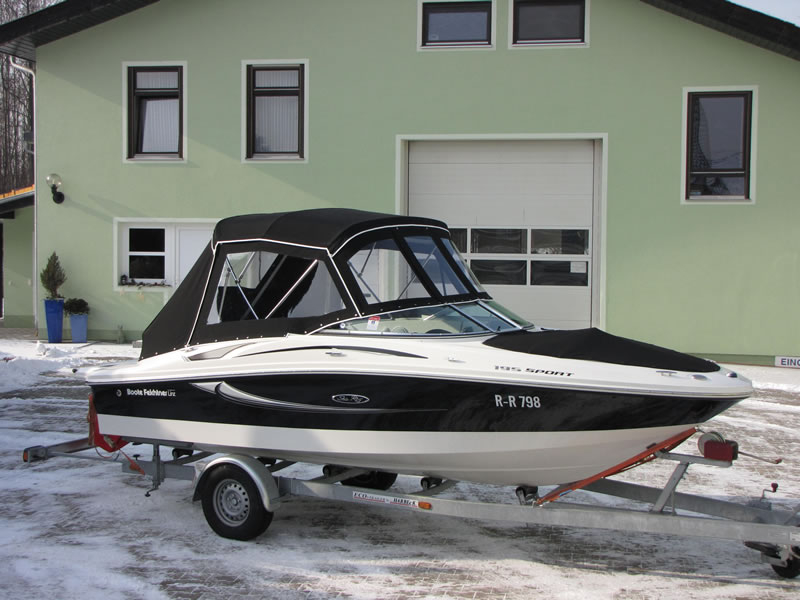 Verdeck Sea Ray 195 Sport Persenning 08