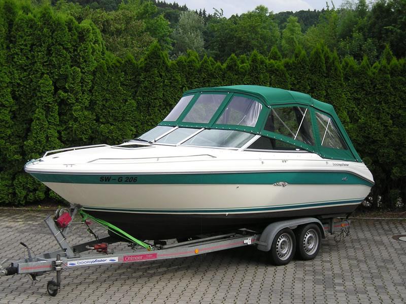 Verdeck Sea Ray 220 OV Persenning  01