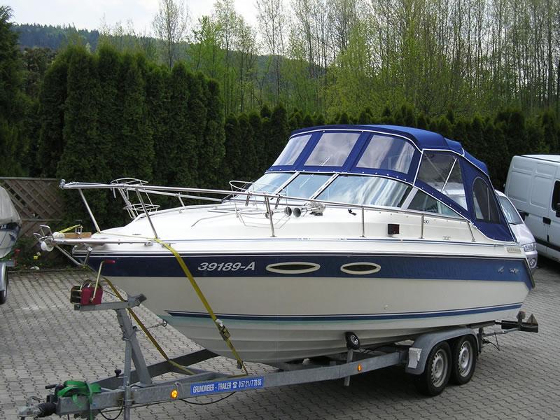 Verdeck Sea Ray 230 CC Persenning  02