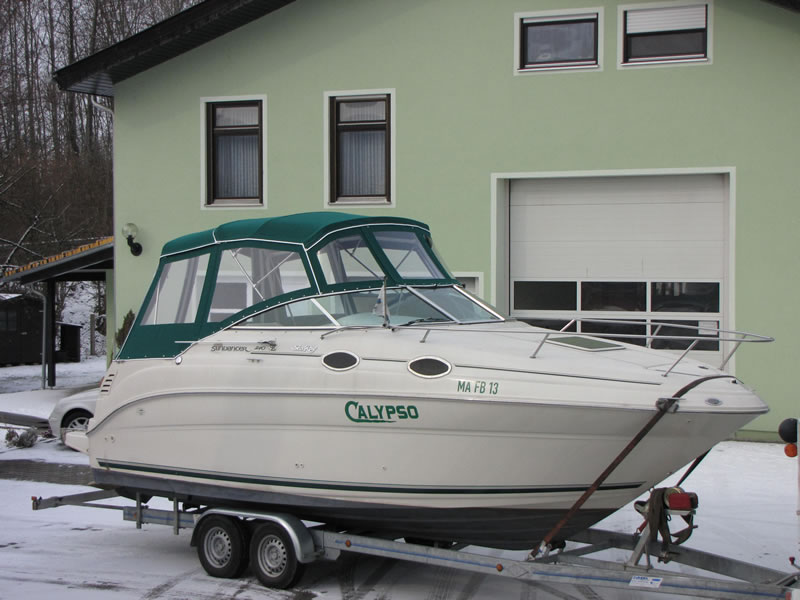 Verdeck Sea Ray 240 Sundancer Persenning 10