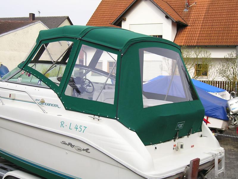 Verdeck Sea Ray 250 Sundancer Persenning  06