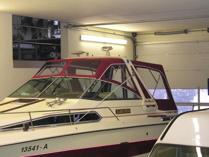 Verdeck Sea Ray 268 DA Persenning 02