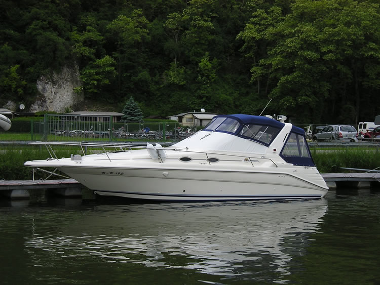 Verdeck Sea Ray 290 Sundancer Persenning 03