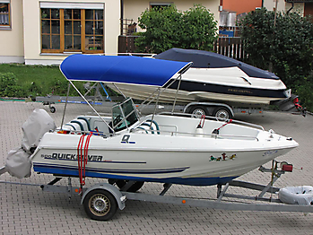 Quicksilver 500 Commander Open
