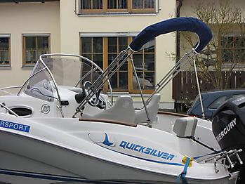 Bimini Quicksilver 555 WA Sonnenverdeck 12