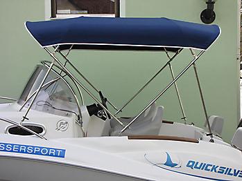 Bimini Quicksilver 555 WA Sonnenverdeck 15