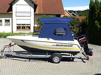 Quicksilver Commander 500 Open
