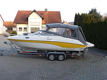 Bimini Rinker 232 Captiva Sonnenschutz 01