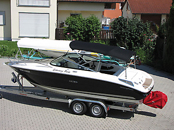 Bimini Sea Ray 210 Sun Sport Sonnenverdeck 02