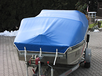 Persenning Barro RTB 500 Arbeitsboot Bootspersenning 04