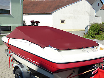 Persenning Bayliner 1851SS Weathermax 80 bordeaux 08