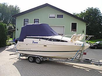 Persenning ueber Verdeck Bayliner 2355 Verdeckschutzpersenning06