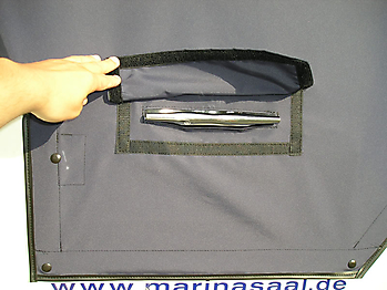 Persenning ueber Verdeck Bayliner 2355 Verdeckschutzpersenning10